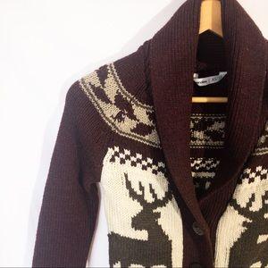 BLUENOTES Button Up Knit Cardigan Size: XS